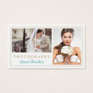 Elegante Modieus van de moderne van het Huwelijk Visitekaartjes
