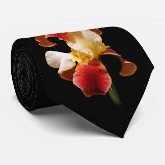 Elegante Multi-Colored Gebaarde Iris Germanica Feest Stropdas