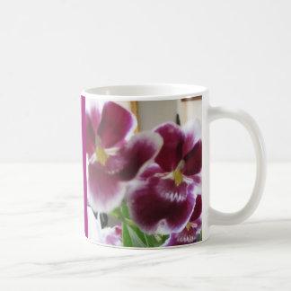 Elegante Orchidee in de Mok van de Waterverf