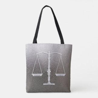 Elegante Schalen van Rechtvaardigheid | Grafische Draagtas