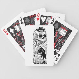 Elegante speelkaarten Calavera Poker Kaarten