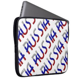 Elegante Typografie van de Kleuren van de Vlag van Laptop Sleeve