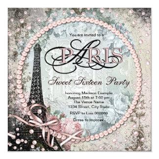Elegante Zoete Partij 16 van Parijs Kaart