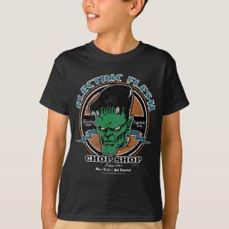 Elektrisch Merk Flesh™ (Wijnoogst) T Shirt