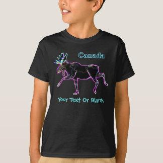 Elektrische Amerikaanse elanden - Canada T Shirt