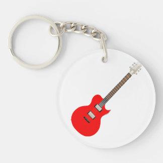 elektrische gitaar copy.png 2-Zijde ronde acryl sleutelhanger