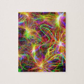 Elektrische Regenboog Puzzel