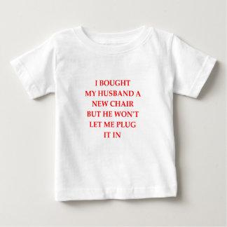 elektrische stoel baby t shirts