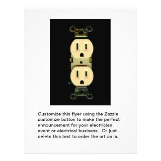 Elektro de elektricienszaken van de folders