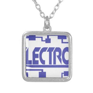 Elektronika Zilver Vergulden Ketting