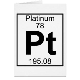 Element 078 - PT - (Volledig) Platina Wenskaart