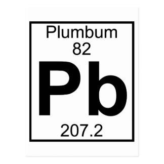 Element 082 - Pb - (Volledige) Plumbum Briefkaart