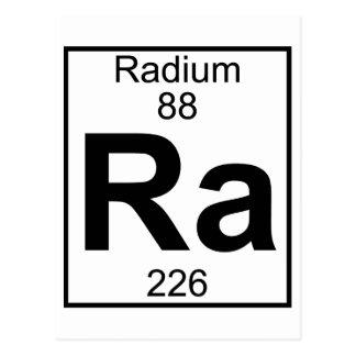 Element 088 - Ra - (Volledig) Radium Briefkaart