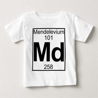 Element 101 - Md - (Volledig) Mendelevium Baby T Shirts