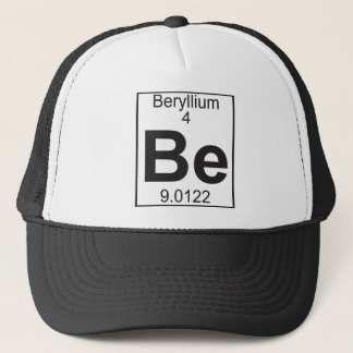 Element 4 - ben (beryllium) trucker pet