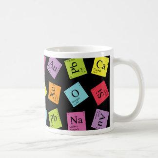 Elementaire Periodiek (Donker) Koffiemok