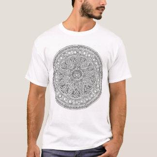 Elf Gerichte Keltische Pentagram T Shirt
