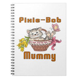 Elf-loodje het Mamma van de Kat Ringband Notitie Boeken