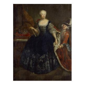 Elisabeth Christine von Braunschweig als Koningin Briefkaart