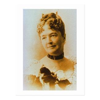 Elizabeth Bacon Custer (1842-1933) vrouw van Briefkaart