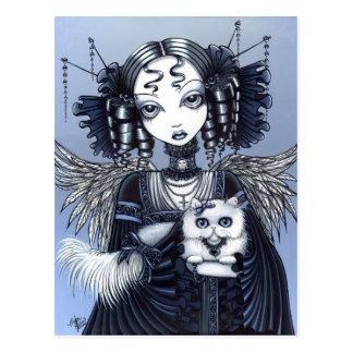Elizabeth de Gothic Victorian Engel van de Briefkaart