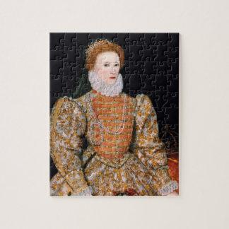 "Elizabeth I van Engeland (het ""Portret Darnley"") Foto Puzzels"