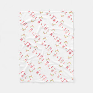 elk van me liefdes iedereen fleece deken