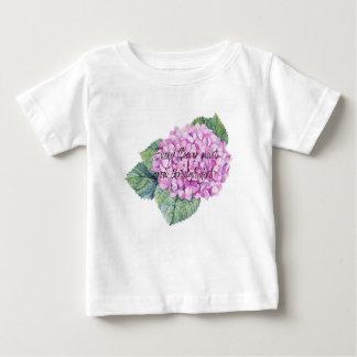 Elke bloem moet door vuil groeien baby t shirts