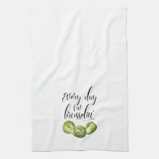 Elke Dag ben ik de Handdoek van de Keuken van de