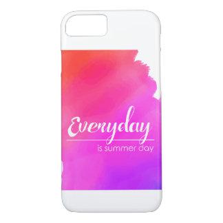Elke dag is de Dag van de Zomer iPhone 7 Hoesje