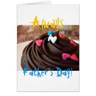 Elke dag is Vaderdag Wenskaart
