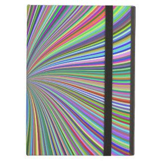 Elke Kleur in de Spiraalvormige Optische Werveling iPad Air Hoesje