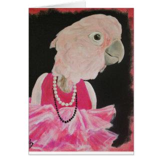 Ella Mooie in Roze notakaart Briefkaarten 0