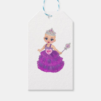 Ella Verrukte Who van de Prinses is u? Cadeaulabel