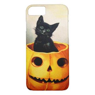 Ellen H. Clapsaddle: Zwarte Kat in Hefboom iPhone 8/7 Hoesje