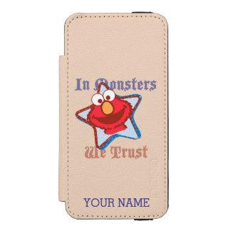Elmo - in Monsters die wij | toevoegen Uw Naam