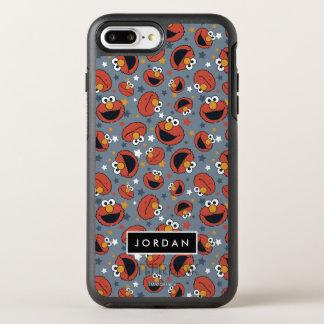 Elmo | Patroon | van de Ster van Regels Elmo voegt OtterBox Symmetry iPhone 8 Plus / 7 Plus Hoesje