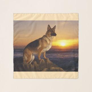 Elzassisch bij zonsondergang sjaal