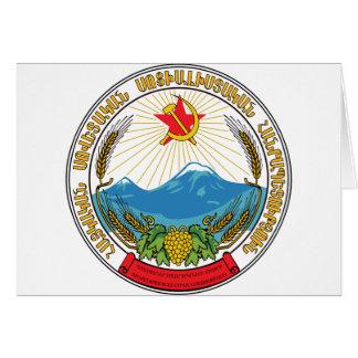 Embleem van de Armeense Sovjet Socialistische Kaart