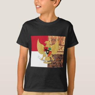 Embleem van de Vlag van de Batik van Indonesië - T Shirt