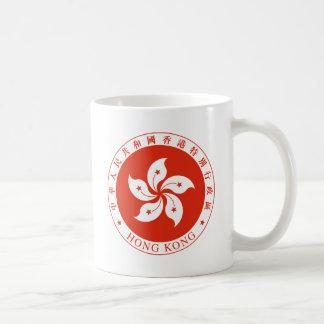 Embleem van Hong Kong - 香港特別行政區區徽 Koffiemok