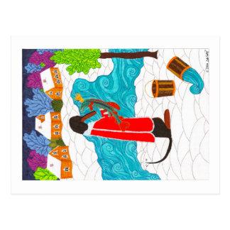 Emelya & de Magische Snoeken Briefkaart