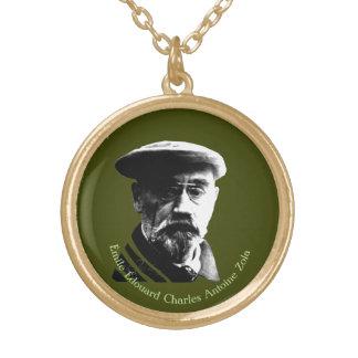 Emile Zola Goud Vergulden Ketting