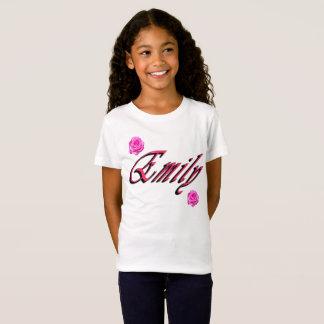 Emily, Naam, Logo, T Shirt
