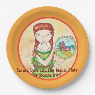 Emma Tate en het Magische het document van het Papieren Bordjes