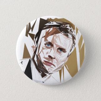 Emmanuel Macron Ronde Button 5,7 Cm