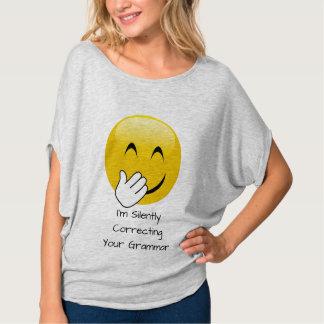 Emoji die stil de T-shirt van de Grammatica