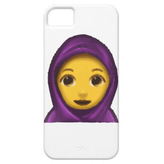 emoji hajib barely there iPhone 5 hoesje