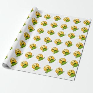 emoji het overgeven zich cadeaupapier