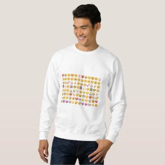 emoji mannen sweatshirt